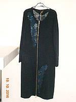 Теплое нарядное платье 56 размера