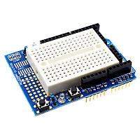 Плата расширения ProtoShield с беспаечной платой НСБ-170 для Arduino Uno