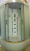 Гидромассажный бокс Atlantis AKL-100Р(XL) 100х100х215 белый, фото 1