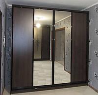 Шкаф-купе А-2405 Размер 2400*600*2400 бронзовое зеркало, фото 1
