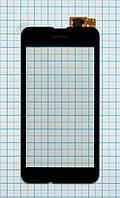 Тачскрин сенсорное стекло для Nokia Lumia 530 black