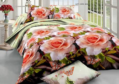 Двуспальный набор постельного белья 180*220 из Ранфорса №224 Черешенка™, фото 2