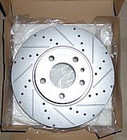 Перфорированный тормозной диск передний ОПЕЛЬ ОМЕГА