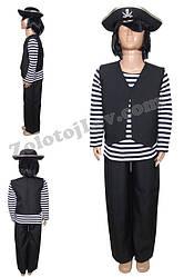 Піратський Костюм для дитини зріст 116