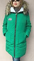Зимняя куртка парка женская