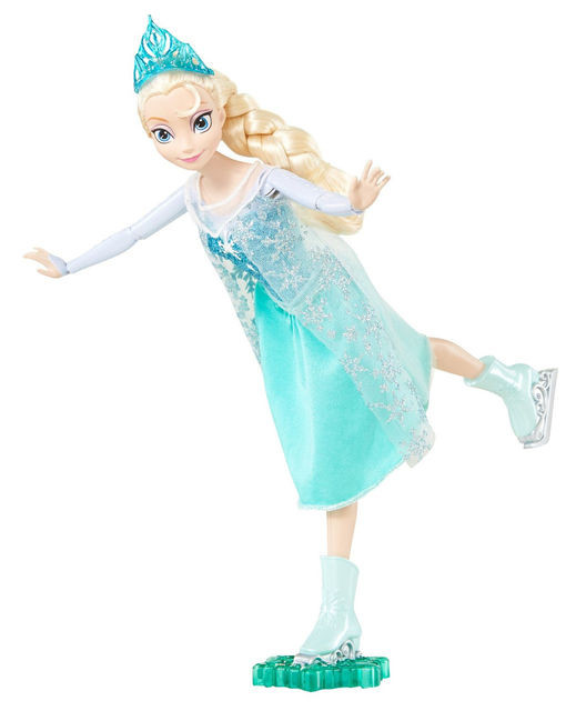 Кукла Эльза  на коьках Дисней Disney
