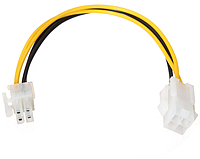 Переходник адаптер molex 4 Pin  4 Pin кабель питания процессора