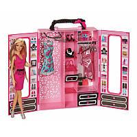 Шкаф-чемодан для одежды с куклой Барби / Wardrobe-suitcase for clothes with Barbie doll