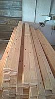 Вагонка дерев'яна двухстороння шліфована II сорт от 2000 до 4000 мм
