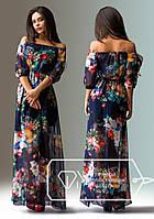 """Модное женское платье """"Цветы"""""""