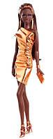 Коллекционная кукла Барби / Barbie The Look: Bronze Dress Doll
