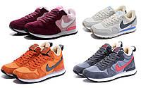 Кроссовки зимние мужские/женские Найк Nike internationalist winter (с мехом)