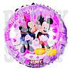 Фольгированный шарик Микки и Минни Маус, 44 см