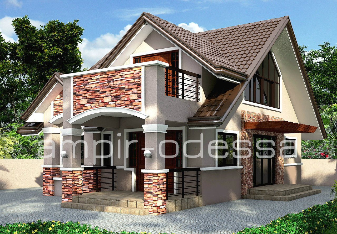 Проект дома с мансардой, фото 1