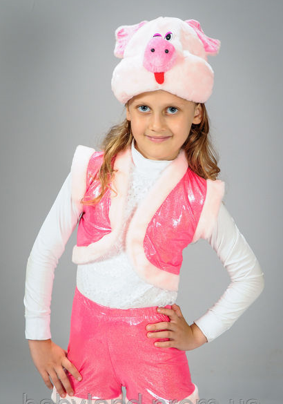 Детский маскарадный костюм Хрюши (Свинки) на 2-4 года