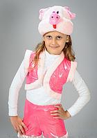 НА ПРОКАТ  Детский маскарадный костюм Хрюши (Свинки) на 2-4 года