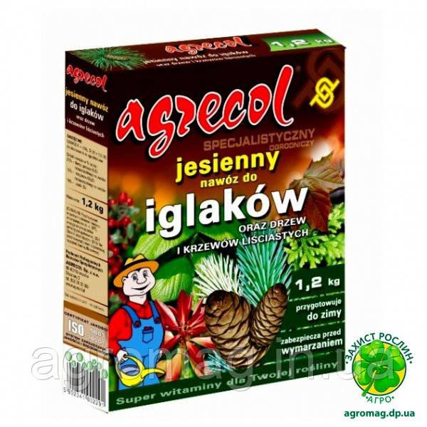 Agrecol 1,2 кг осеннее удобрение для хвои