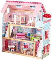 Домик для кукол Челси KidKraft / Chelsea Doll Cottage with Furniture
