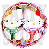 Фольгированный воздушный шарик Hello Kitty, 44 см