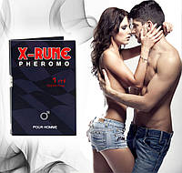 Мужские духи с феромонами  X-rune - for men 1 ml