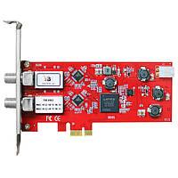 DVB-плата с интерфейсом PCI Express TBS6902 DVB-S2 Dual Tuner PCIe Card