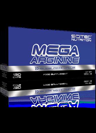 Scitec Nutrition Mega Arginine 120caps