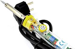 Паяльник Zhongdi 30-50Вт с регулятором температуры, 220V (евровилка) ZD-708