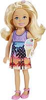 """Кукла Челси с мороженным серии """"Барби и ее сестры: большое приключение щенков"""" / Barbie Great Puppy Adventure"""
