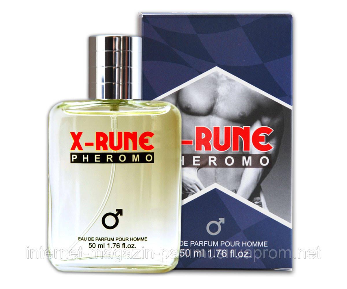 Мужские духи с феромонами  X-rune - for men 50 ml - Интернет магазин PaniMusi в Одессе