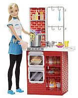 """Игровой набор """"Шеф итальянской кухни"""" с куклой, Барби  / Barbie Spaghetti Chef Doll & Playset"""