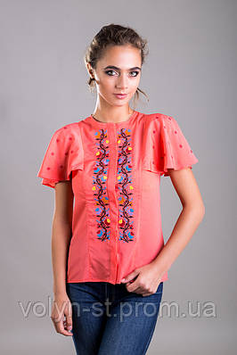 Вышитая блуза Гармонія