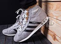 Кроссовки мужские зимние Adidas Jogging Hi S.W. Star Wars Chewbacca, Киев (серый)