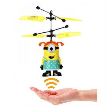 Игрушка Летающий миньон (посипака) Flying Minion девочка Стюарт