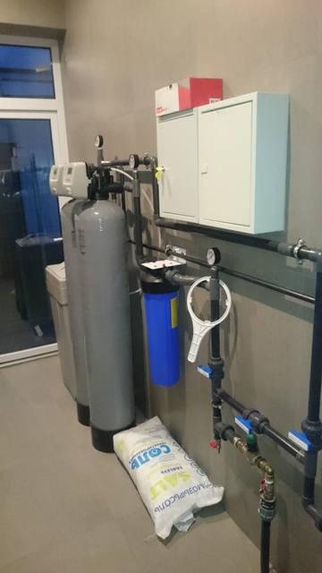 Водоочистка для коттедж с одним санузлом на сложную воду с сероводородом. Белгравия 40