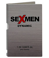 Мужские духи с феромонами  Sexmen Dynamic 1 ml