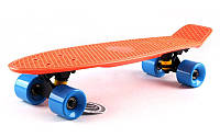 "Penny 22"" ORIGINAL FISH BOARD (оранжевый-черный-голубой), фото 1"