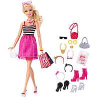 Набор кукла Барби с аксессуарами, Барби на шоппингеи Barbie, фото 1