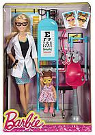 Набор Barbie, кукла Барби врач окулист Barbie