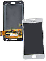 Модуль (Дисплей + сенсор) Samsung i9100 with touch white