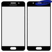 Защитное стекло корпуса для Samsung Galaxy A3 (2016) A310, черное, оригинал