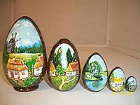 Матрешка-яйцо сувенирное