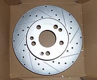 Перфорированный тормозной диск передний MERCEDES E (A124)/(C124)/(W124)