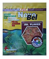 Корм для аквариумных рыб JBL NovoBel (Ново бел) в хлопьях, сашет 50 мл, фото 1