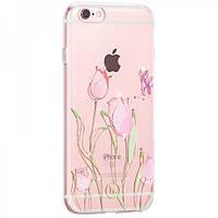 Чехол Hoco Super star series inner diamond flower Tulip для iPhone 6/6S Plus