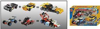 """Конструктор """"RACERS """" , набор гоночных автомобилей"""