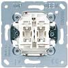Механизм выключателя двухклавишного проходного Eco profi JUNG