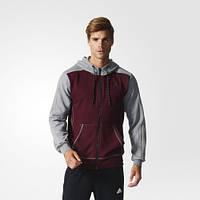 Мужская теплая худи adidas Sport Essentials 3-Stripes AY5480