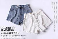 Женские короткие шорты с завышенной талией