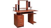 """Комп'ютерний стіл Пегас з надбудовою Пехотин / Компьютерный стол """"Пегас"""" с надстройкой Пехотин, фото 1"""