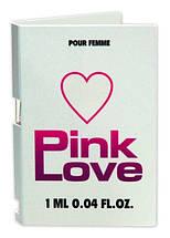 Женские духи с феромонами Pink Love 1 ml. Пробник